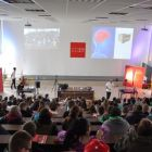 Vedecká show Michaela Londesborougha v Trnave