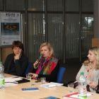 Otvorenie 1. krúhleho stola riaditeľkou NCP VaT Mgr. Andreou Putalovou