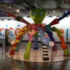 vstupná hala do detskej časti expozícií