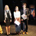 Zľava: Mgr. Andrea Putalová, ocenení: Danica Bubelínyová, Miroslav Jurčák