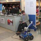 Mobilné roboty okolo nás prezentovala Slovenská technická univerzita v Bratislave, FEI, Ústav riadenia a priemyselnej informatiky