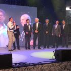 S krátkymi príhovormi vystúpili na pódiu: Štefan Chudoba, Milan Ftáčnik, Šajgalík, Mičieta, Chrenek a Ján Turňa