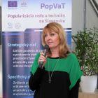 Slávnostné otvorenie - moderátorka PhD. Zuzana Hajdu